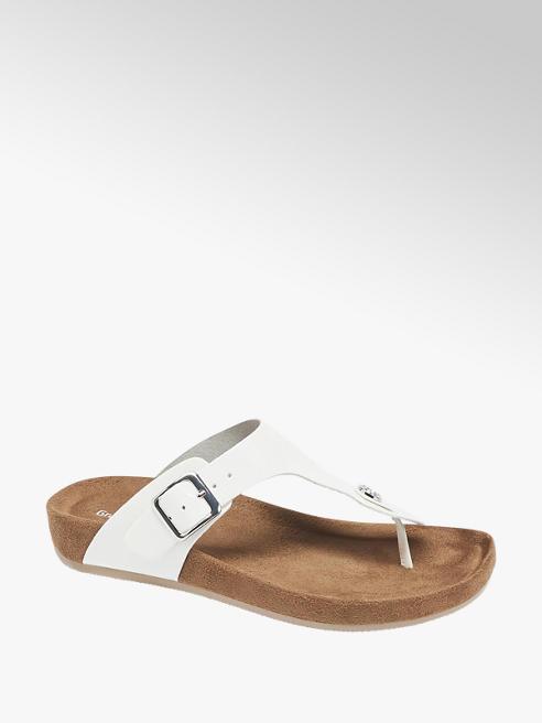 Graceland Fehér hipszter papucs