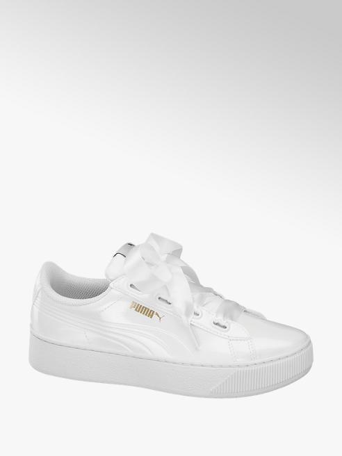 Puma Fehér lak Puma VIKKY PLATFORM RIBBON P sneaker