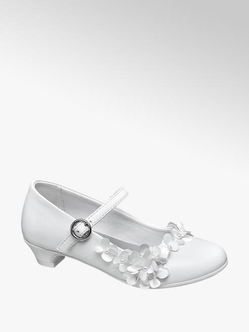 Cupcake Couture Fehér lányka körömcipő