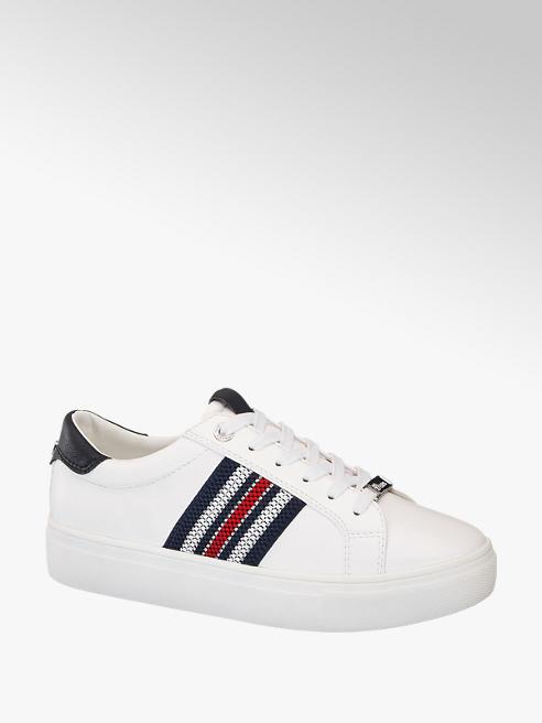 Tom Tailor Fehér női platform sneaker