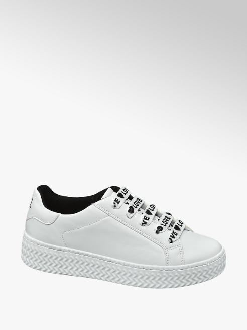 Graceland Fehér platform sneaker