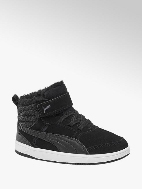 Puma Fekete Puma REBOUND STREET V2 bélelt sneaker