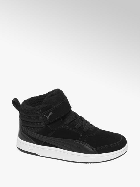 Puma Fekete Puma REBOUND STREET gyerek magasszárú sneaker