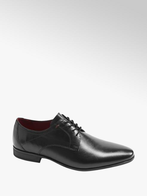 Claudio Conti Fekete alkalmi cipő