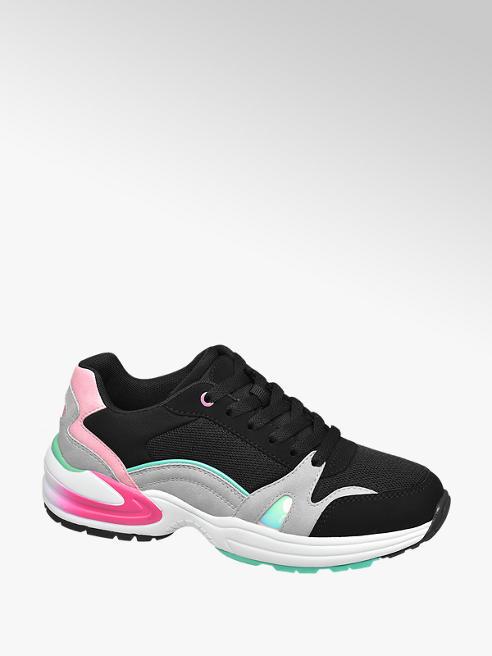 Venice Fekete chunky sneaker