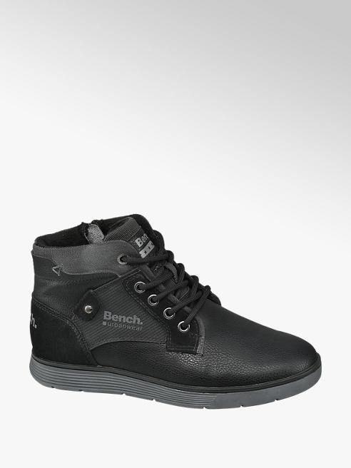 Bench Fekete cipzáras bakancs
