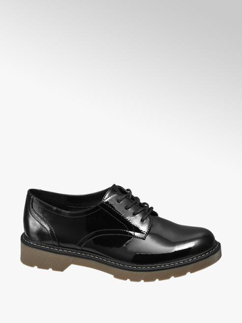 Graceland Fekete dandy cipő