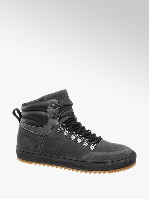 MEXX Fekete férfi magasszárú cipő