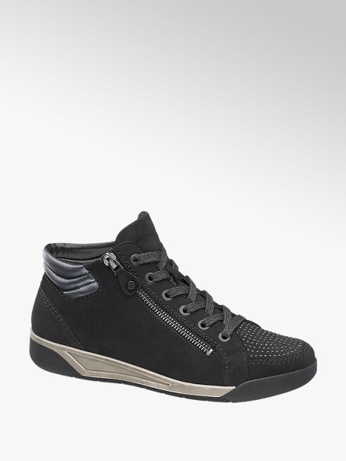 Medicus Fekete kényelmi cipő