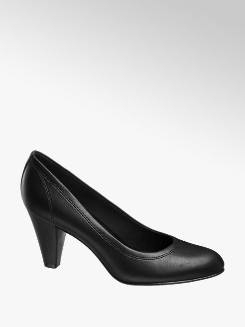 Graceland Fekete körömcipő