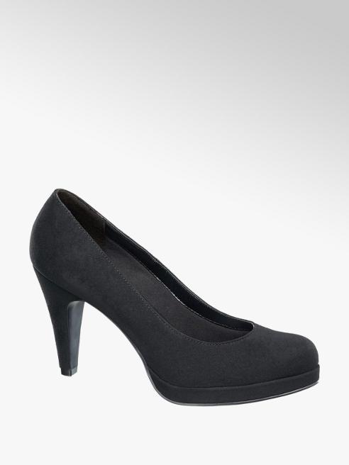 Graceland Fekete női körömcipő