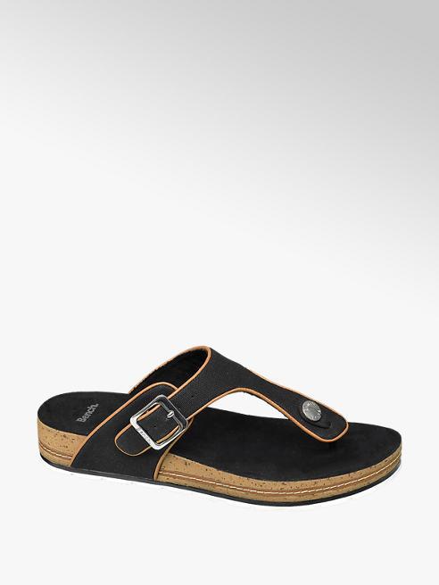 Bench Fekete női lábujjközi papucs