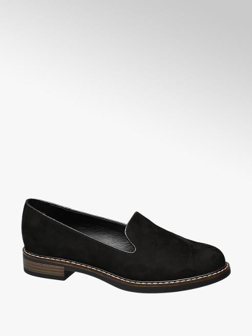 Graceland Fekete női loafer