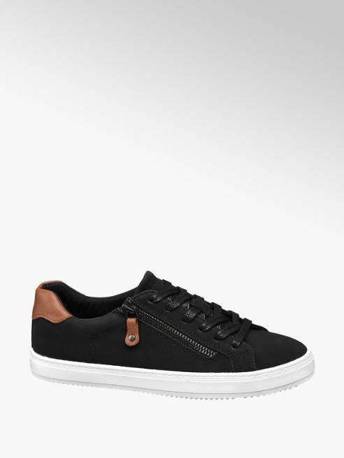 Graceland Fekete női vászoncipő
