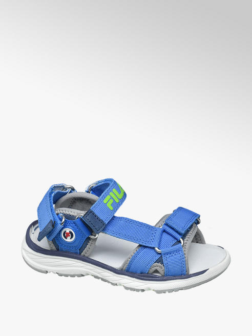 Fila Blauwe sandaal klittenbandsluiting