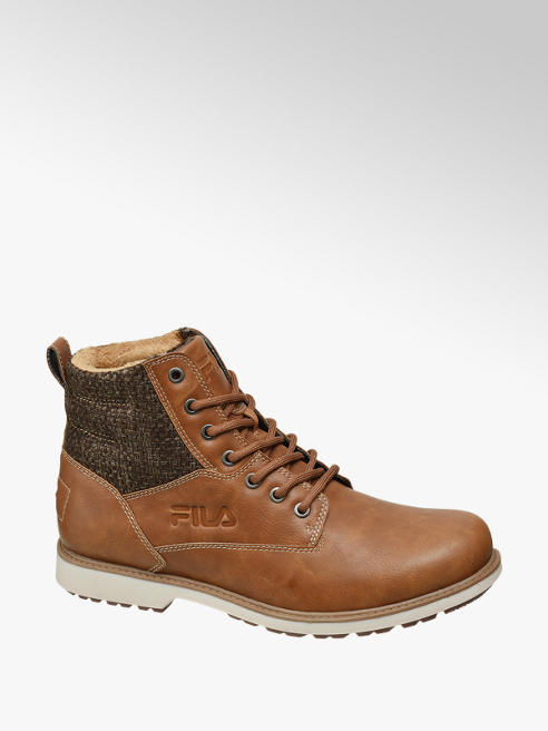 Fila Camel hoge boot vetersluiting