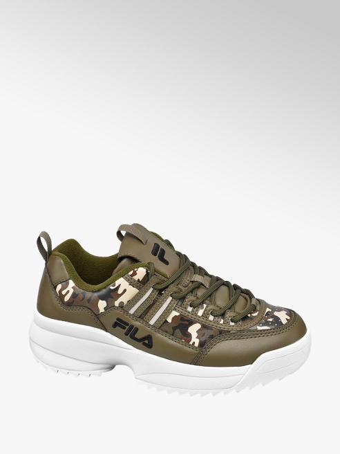 Fila Chunky Sneaker in Camouflage