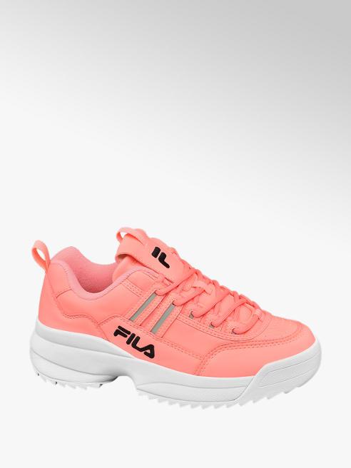 Fila Chunky Sneaker in Koralle