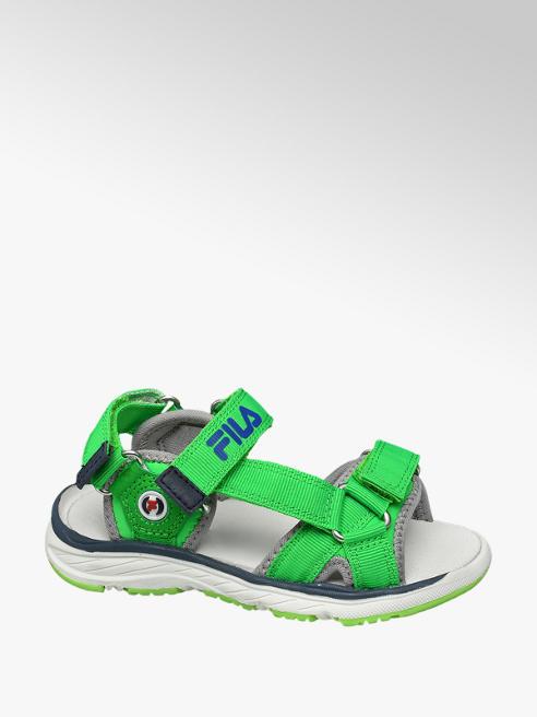 Fila Groene sandaal klittenbandsluiting