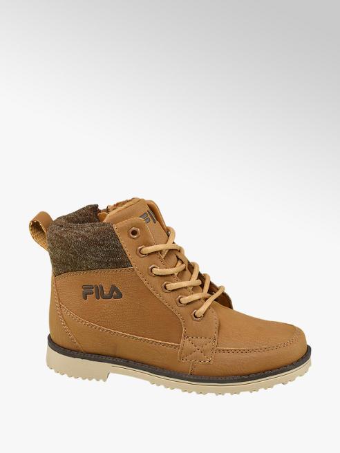 Fila Junior Boy Tan Fila Lace-up Ankle Boots