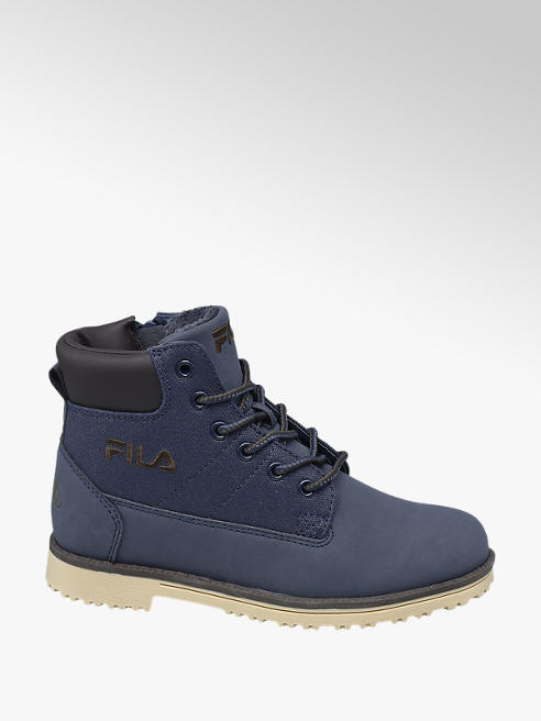 Fila Junior Boy Navy Fila Lace-up Ankle Boots