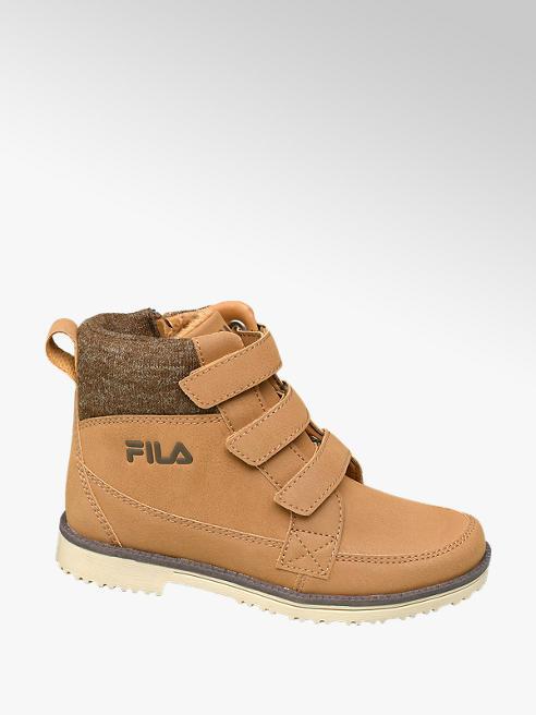 Fila Junior Boys Tan Triple Strap Touch Fasten Boots