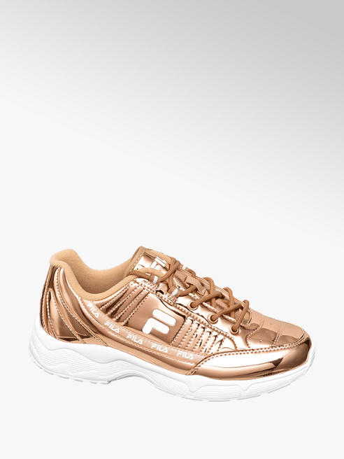 Fila Ladies Fila Gold Lace-up Trainers