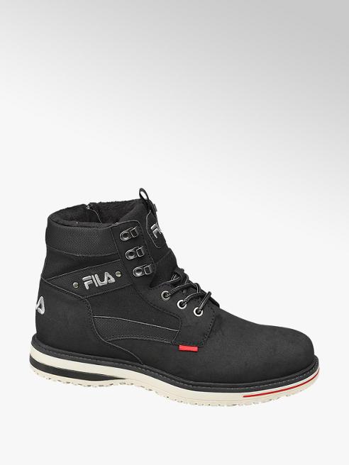 Fila Mens Black Fila Lace-up Boots