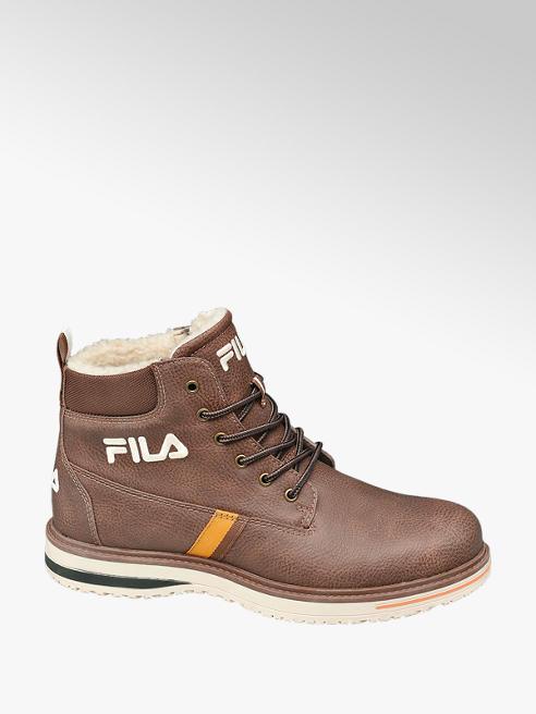 Fila Mens Fila Brown Lace-up Boots
