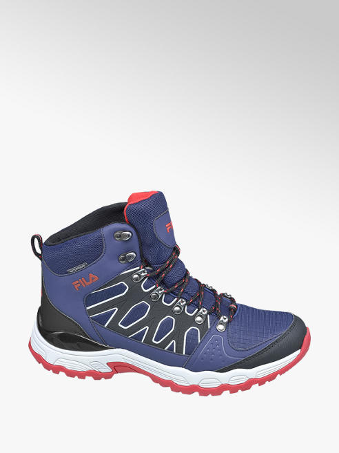 Fila Mens Fila Blue Trekkign Lace-up Boots
