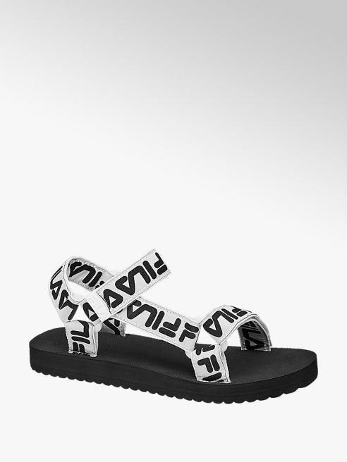 Fila Sandalen in Schwarz-Weiß