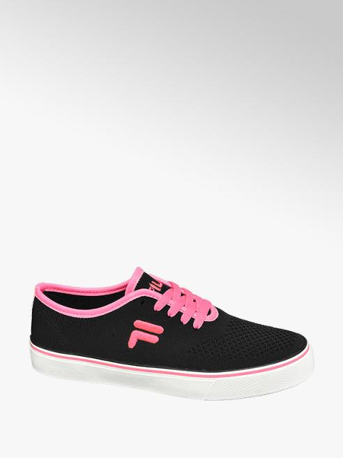 Fila Sneaker in Schwarz mit Neon-Details