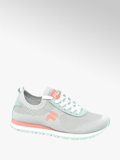 Fila Sock Sneaker in Grau mit Knitted Optik