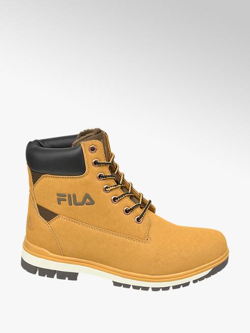 Fila Teen Boys Camel Lace Up Fila Boots