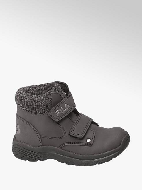 Fila Toddler Boy Black Fila Double Strap Ankle Boots