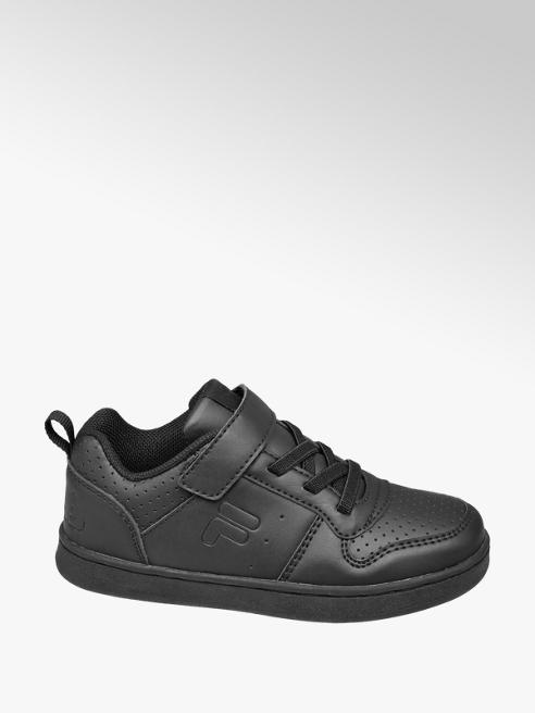 Fila Toddler Boys Fila Black Touch Strap Trainers