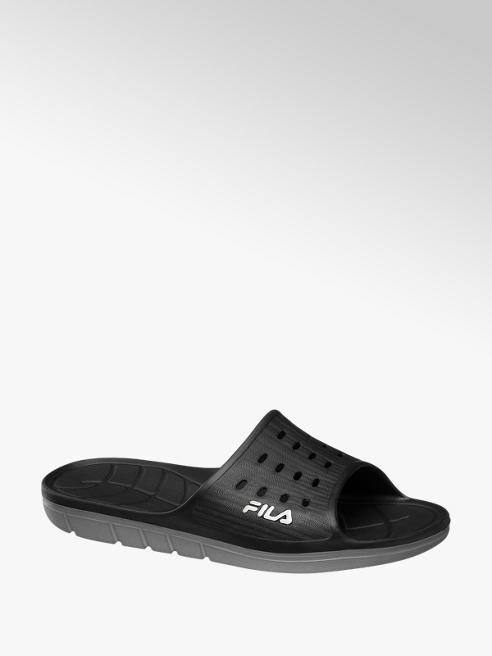 Fila Zwarte slipper