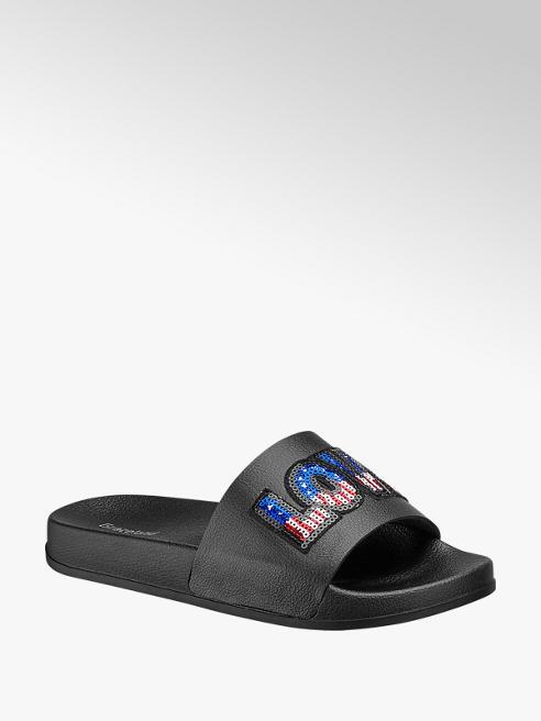 Graceland Flitteres papucs