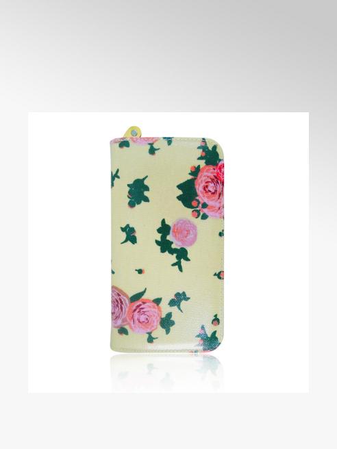 Floral Print Oil Cloth Purse (Long)