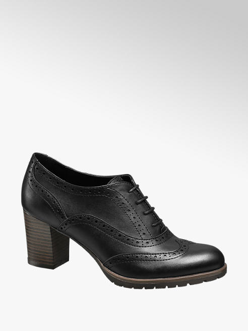 Graceland Francesina brogue nera