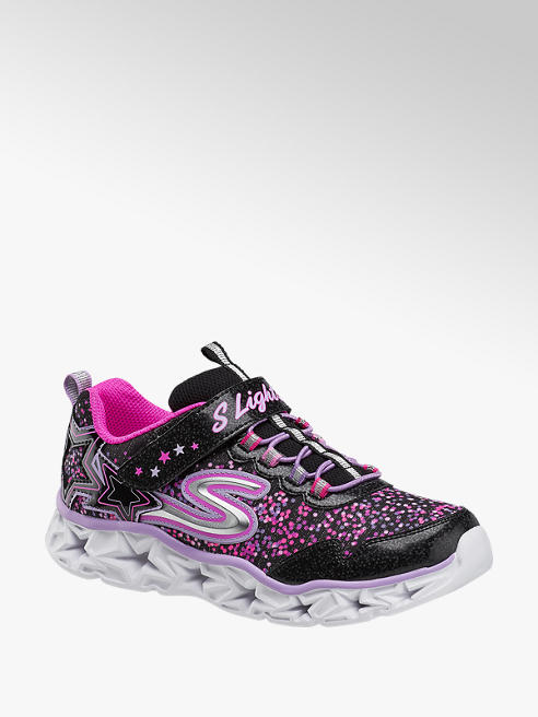 Skechers Galaxy Lights Mädchen Sneaker mit LED Funktion