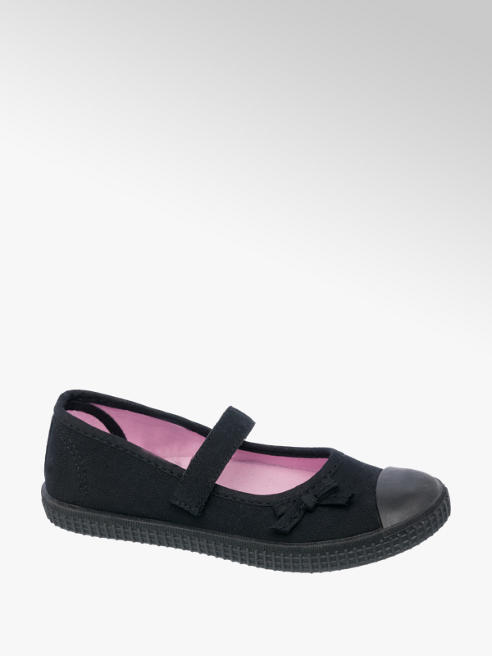 Girls Bar Plimsolls (Sizes 7-13)