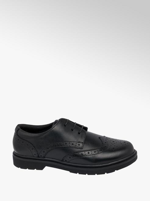 Graceland Teen Girl Chunky Leather Brogue School Shoes