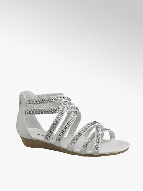 Graceland Diamonte Wedge Sandal