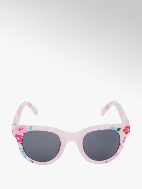 Girls Floral Print Wayfarer Sunglasses