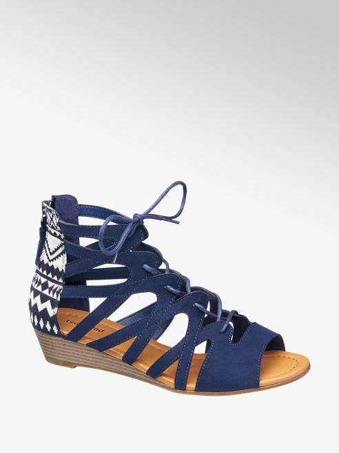 Graceland Bağcıklı Dolgu Topuk Sandalet