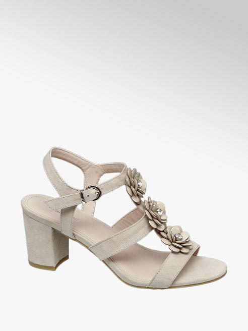 Graceland Kalın Topuk Sandalet