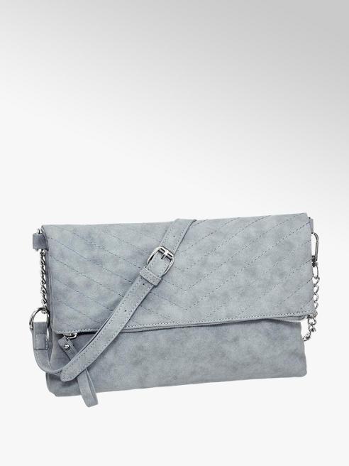 Graceland Blauwe clutch V-stiksel