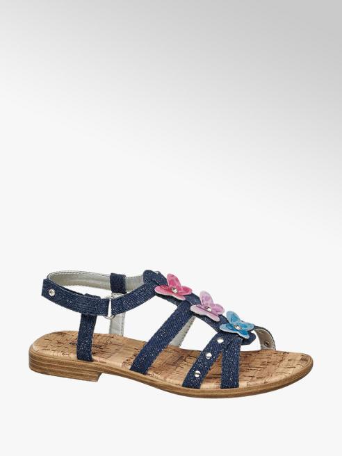 Graceland Blauwe sandaal jeans