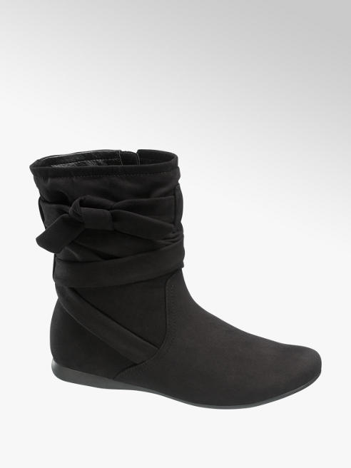 Graceland Boots in Schwarz